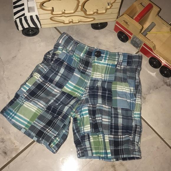 GAP Other - Kids Sz 3T Baby Gap Plaid Shorts